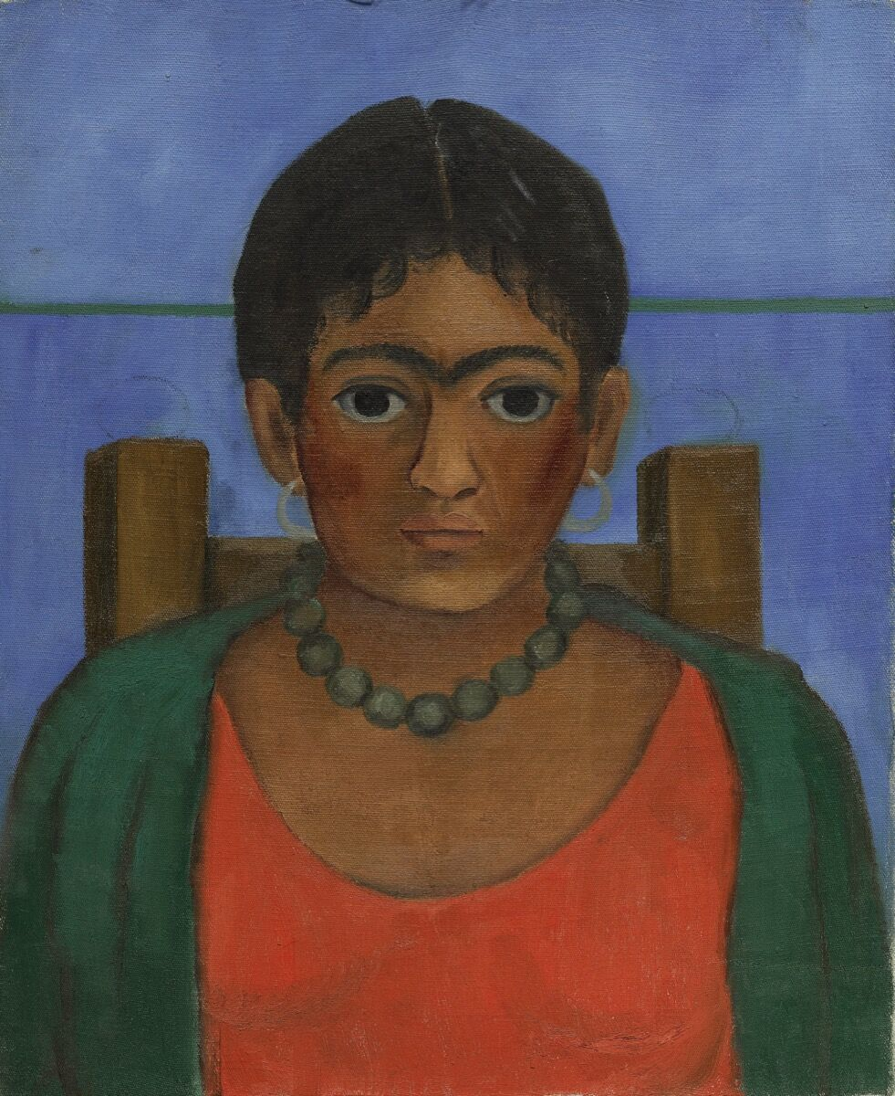 Frida Kahlo,  Niña con collar,  1929. Image courtesy of Sotheby's.