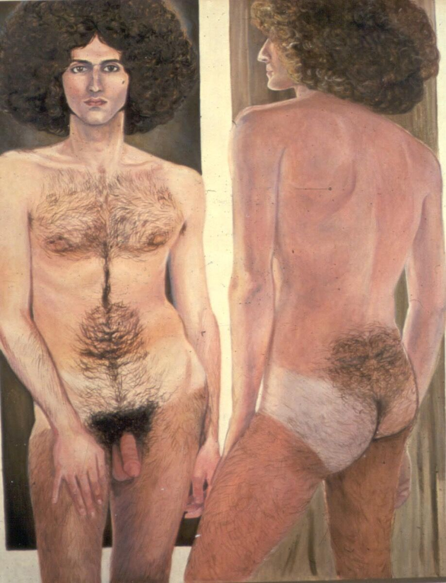 Sylvia Sleigh, Double Image: Paul Rosano, 1974. Courtesy of and © Estate of Sylvia Sleigh.