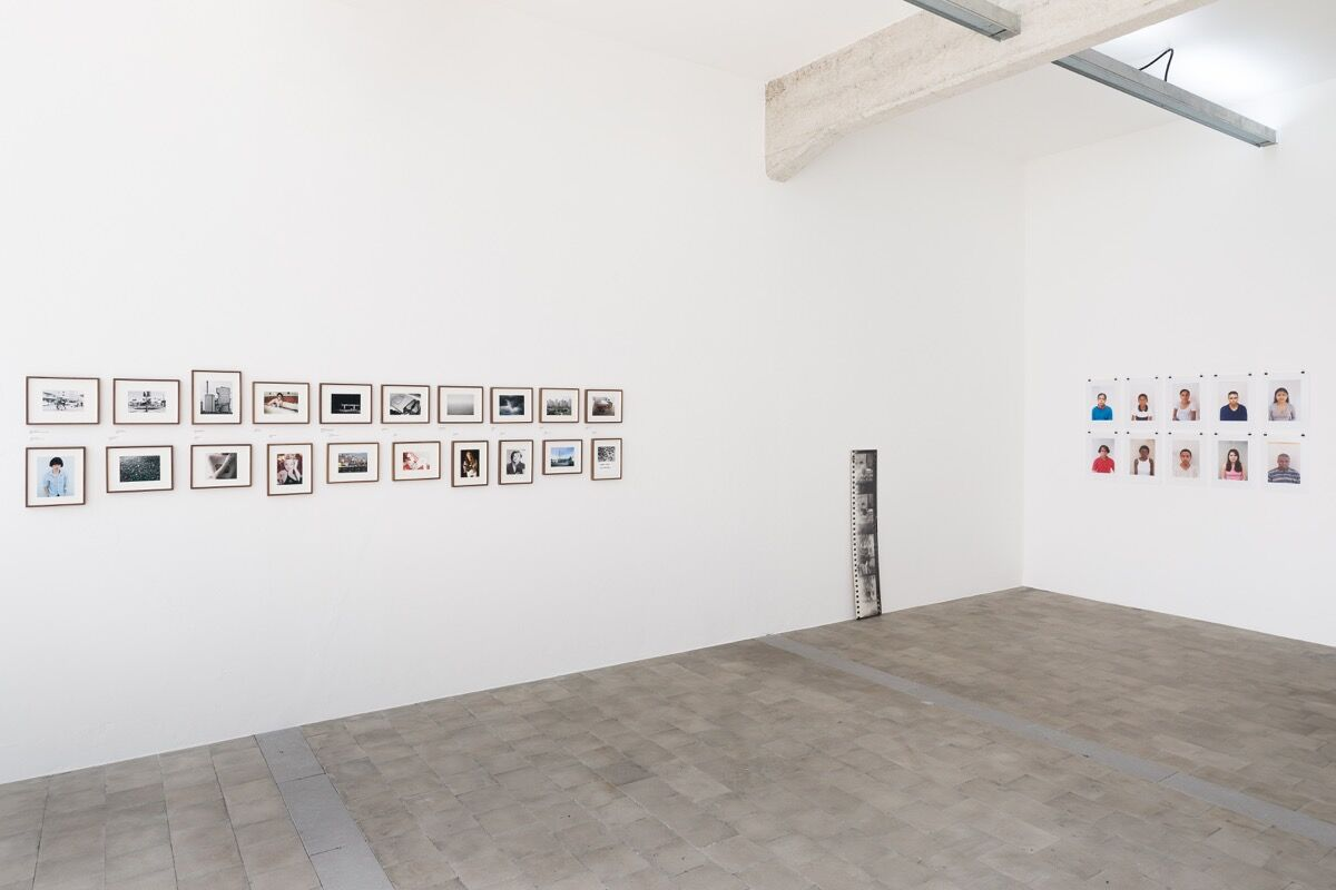 Installation view of works by Joachim Schmid presented by Gallery P420, 2019. Photo by Gui Gomes. Courtesy of Galeria Jaqueline Martins.