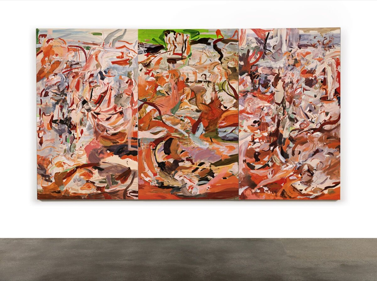 Cecily Brown, Have You Not Known, Have You Not Heard, 2011. Courtesy of Sotheby's.