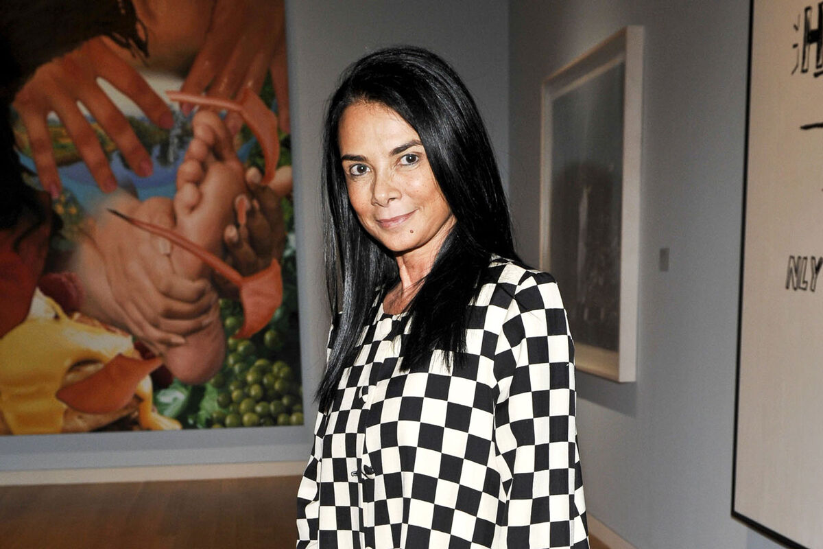 Portrait of Mary Boone at Sotheby's in New York City, 2010. Photo Ryan McCune/Patrick McMullan via Getty Images.