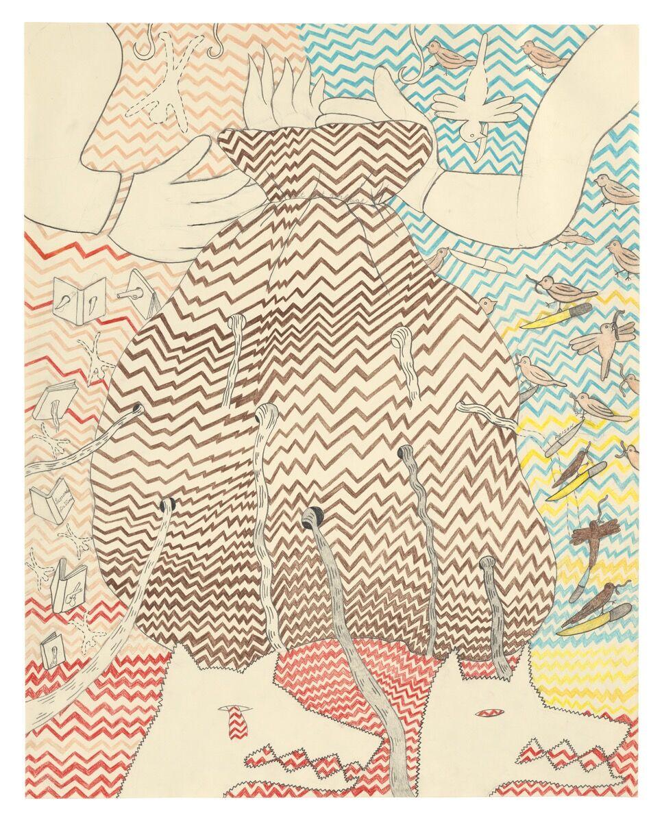 Suellen Rocca, Neatest Garbage, 1982. Courtesy of Matthew Marks Gallery.