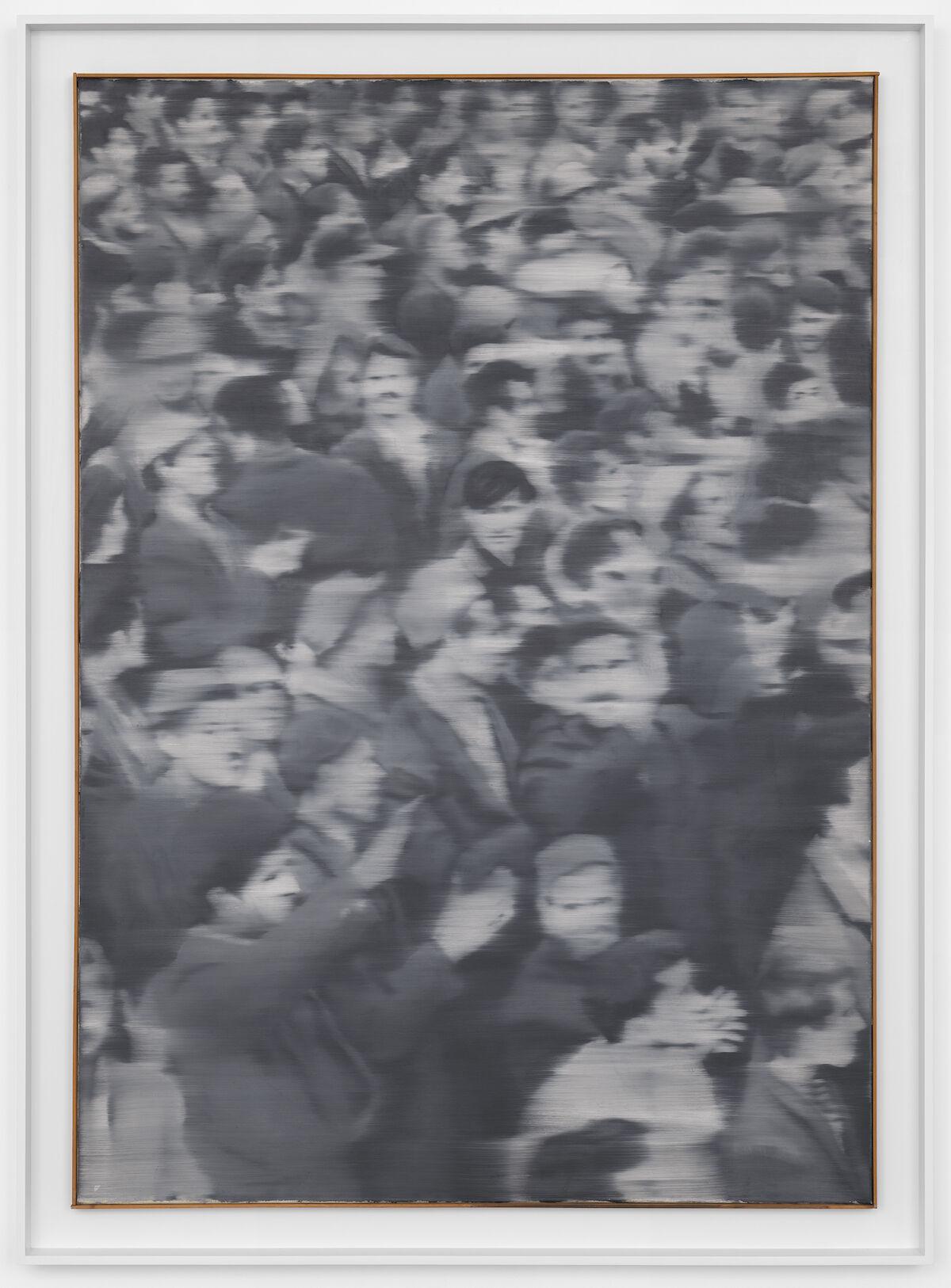 Gerhard Richter,Versammlung , 1966. © Gerhard Richter 2019. Courtesy of David Zwirner.