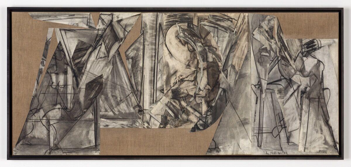 Lee Krasner, Present Subjunctive, 1976. © 2021 Pollock-Krasner Foundation / Artists Rights Society (ARS), New York. Courtesy of Kasmin.