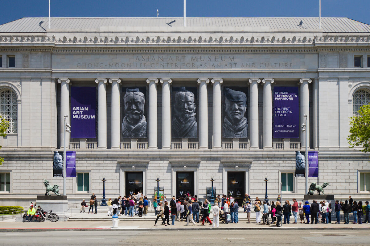 The Asian Art Museum in San Francisco. Photo by LPS.1, via Wikimedia Commons.