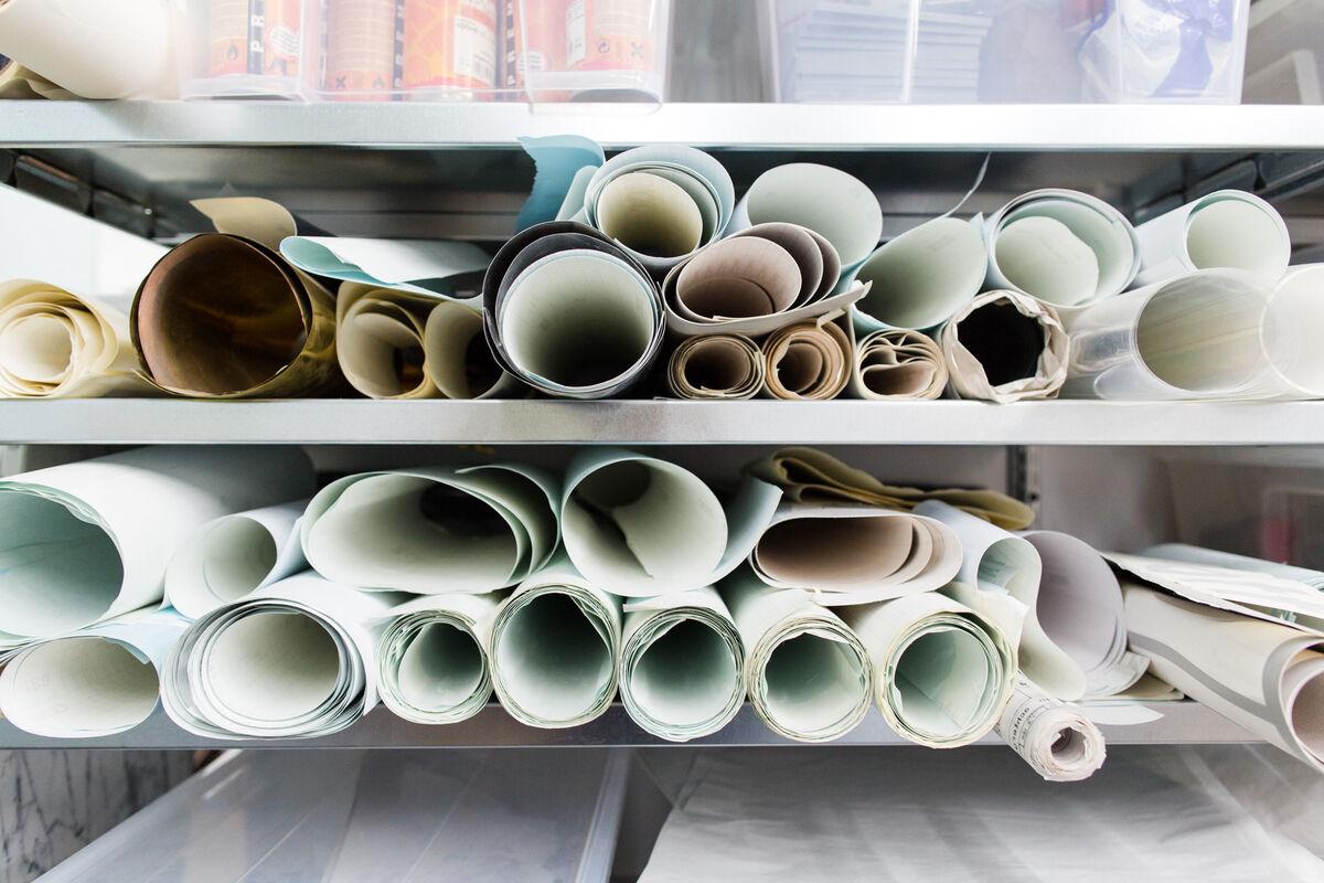 Detail of Lex Pott's Amsterdam studio. Photo by Jordi Huisman for Artsy.