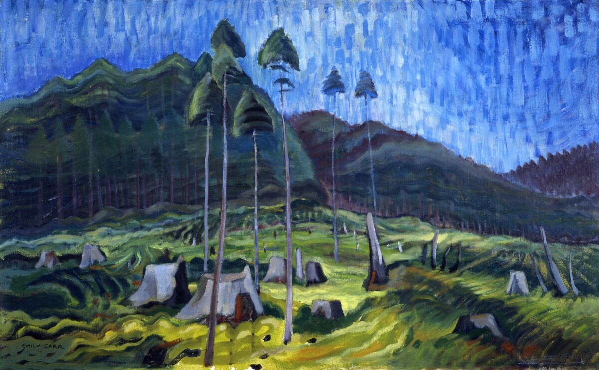 Emily Carr, Odds and Ends, 1939. Image via Wikimedia Commons.