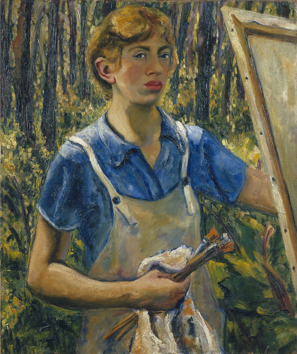 Lee Krasner, Self-Portrait, c. 1930. © The Pollock-Krasner Foundation / Artists Rights Society (ARS), New York. Courtesy of the Jewish Museum.
