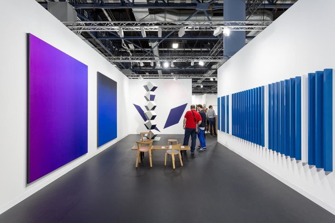 Installation View OfnbspEsther Schipper Johnen Galeries Booth At Art Basel In Miami Beach