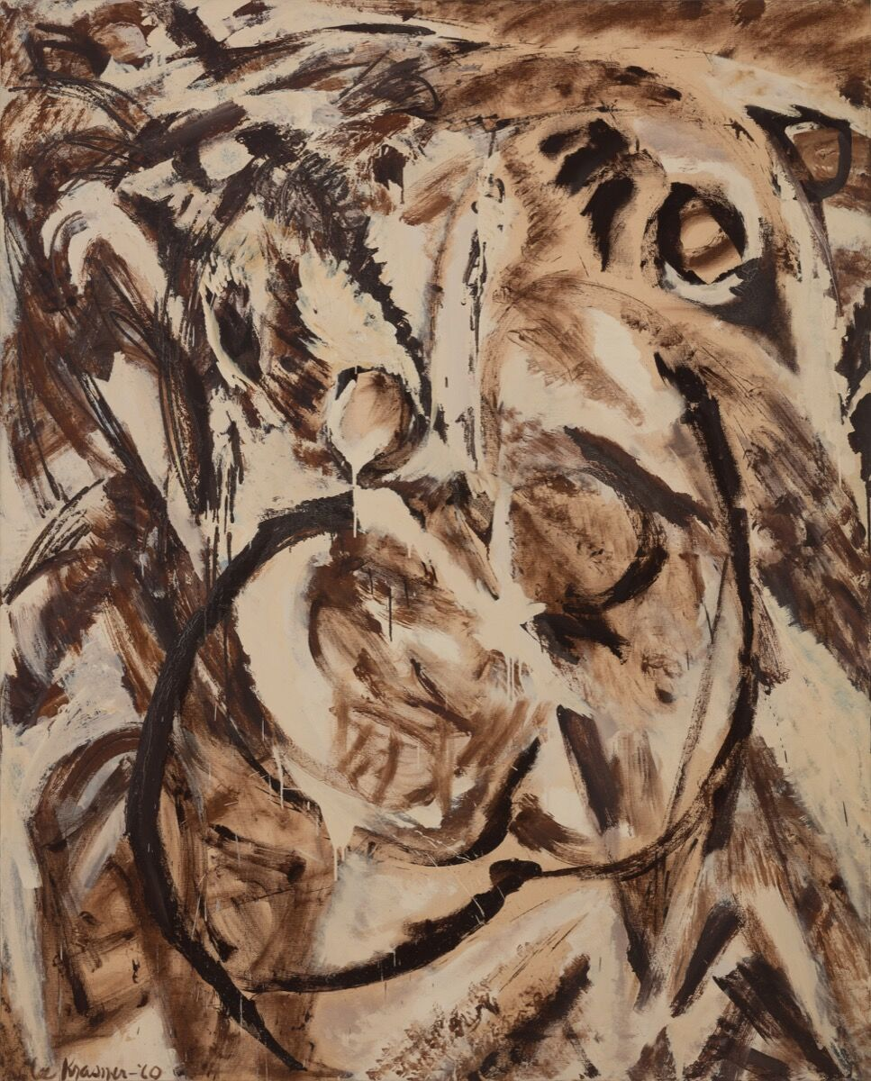Lee Krasner, Fecundity, 1960. © 2017 The Pollock-Krasner Foundation / Artists Rights Society (ARS), New York. Image Courtesy of Paul Kasmin Gallery.