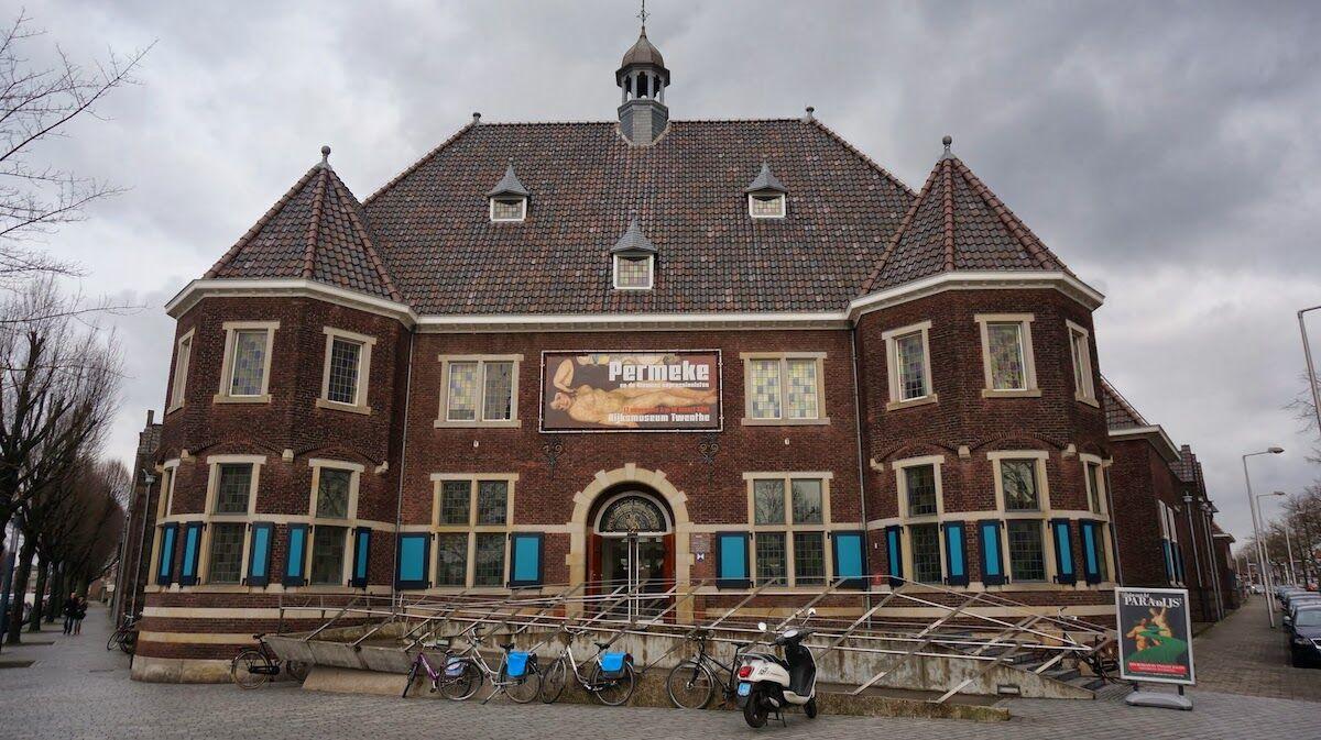 The Rijksmuseum Twenthe museum in Enschede, Netherlands. Photo by Ben Bender, via Wikimedia Commons.
