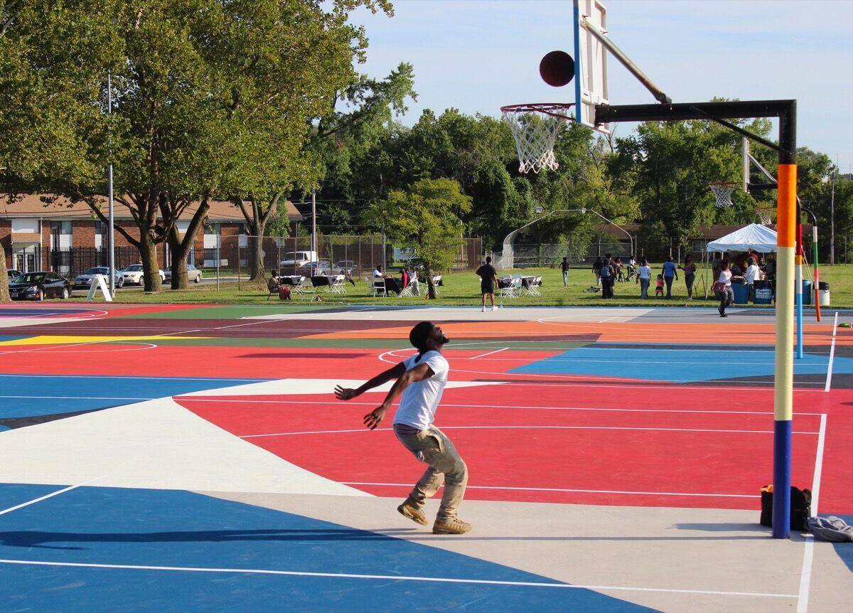 William LaChance, Basket, Kinloch Park.