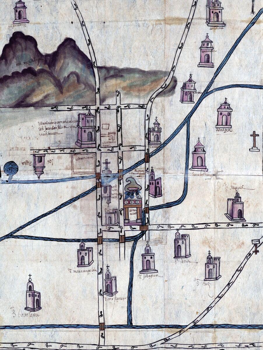 Pedro de San Agustín, Culhuacán, Mexico, 1580. Courtesy of the Blanton Museum of Art.