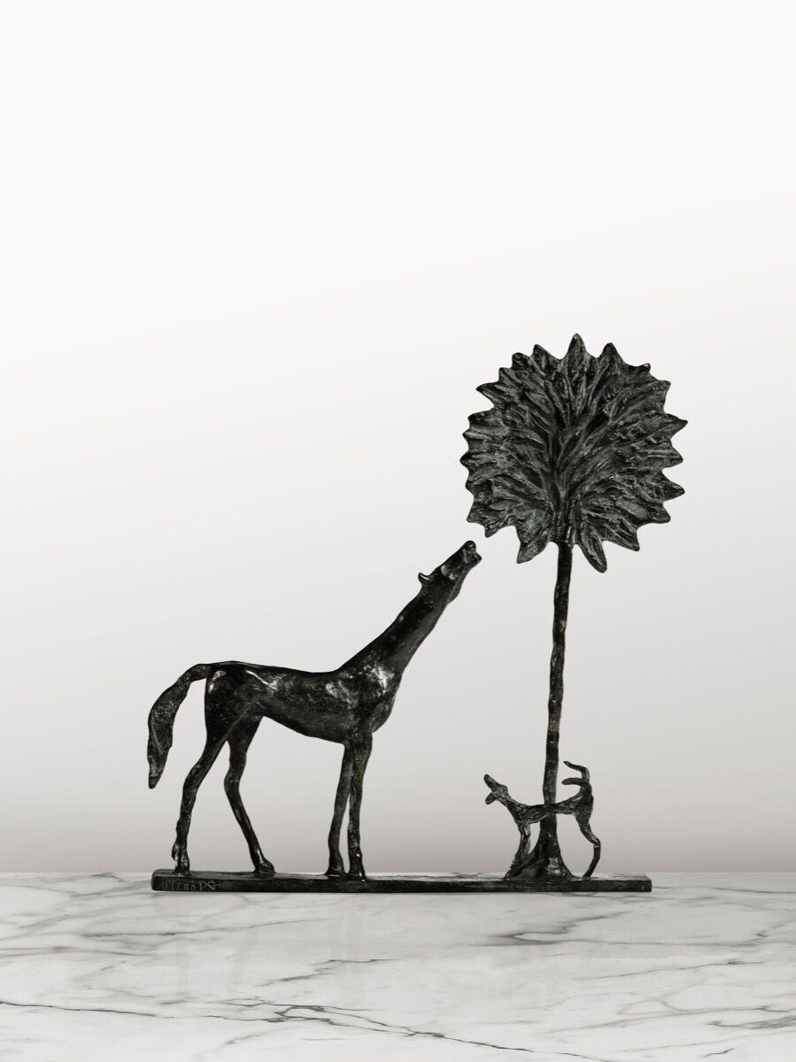Diego Giacometti, La Promenade Des Amis, 1984. Image courtesy of Sotheby's – Art Digital Studio.