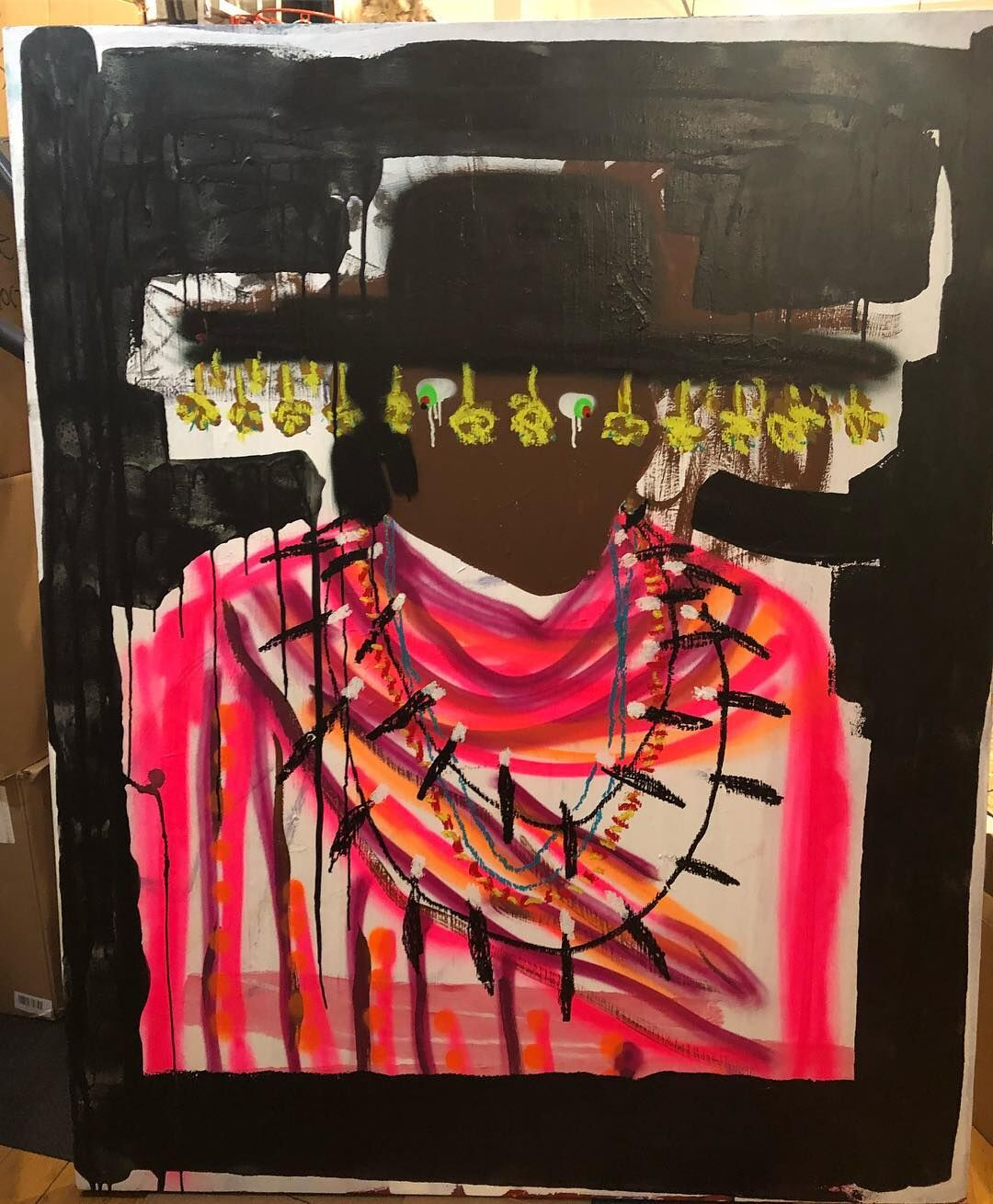 Ariyan Arslani, Sly and the Family Stone, 2018. Courtesy of the artist.