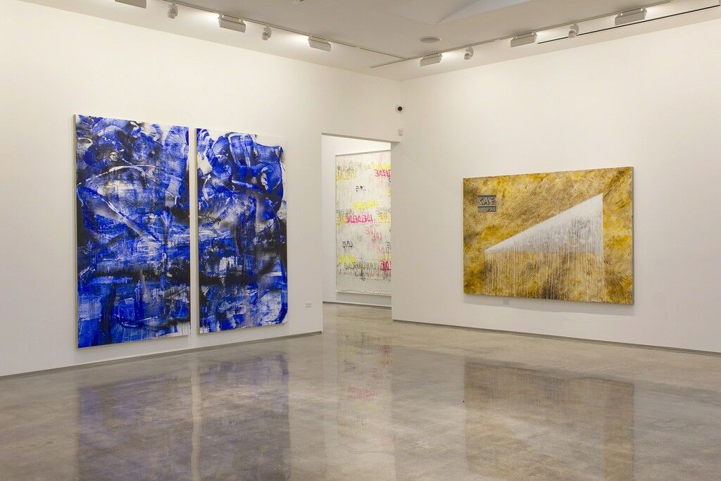 "Installation view of ""Unbound,"" Edward Cella Art and Architecture, Los Angeles. Courtesy Edward Cella Art and Architecture."