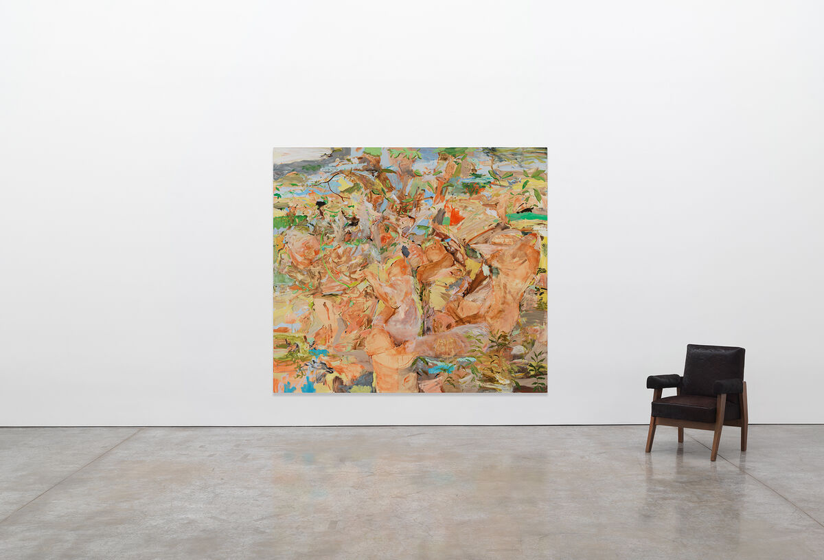 Cecily Brown  Figures in a Landscape 1 , 2001. In Gagosian''s Frieze New York 2020 Online Viewing Room. Artwork © Cecily Brown. Courtesy Gagosian.