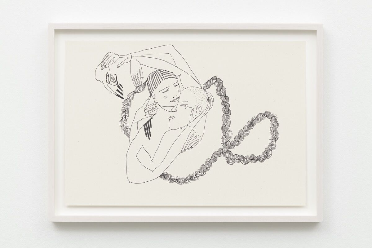 Christina Quarles, In My Love, 2019. © Christina Quarles. Courtesy of Regen Projects, Los Angeles; and Pilar Corrias, London.