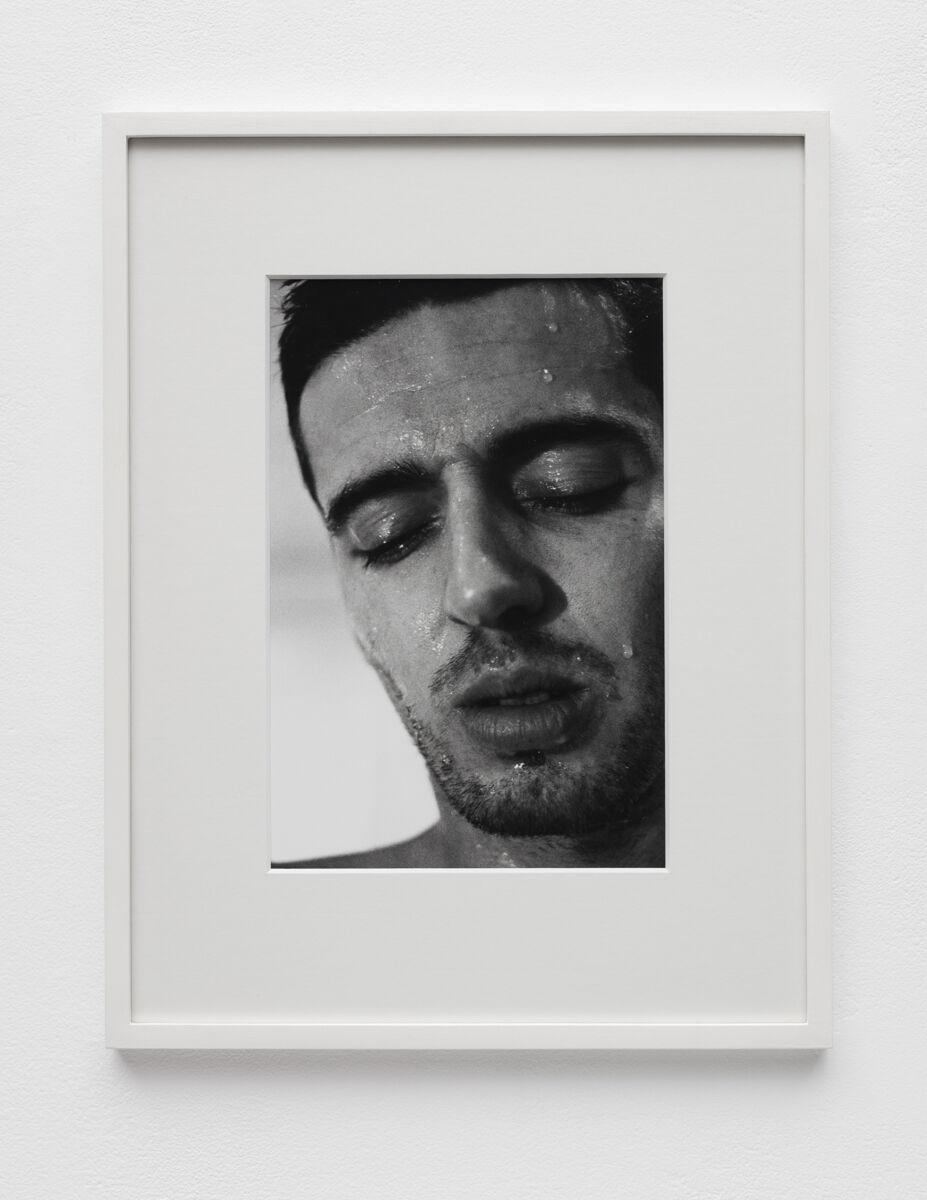 Aura Rosenberg, Head Shots (TK), 1991-1996. Courtesy of Martos Gallery.