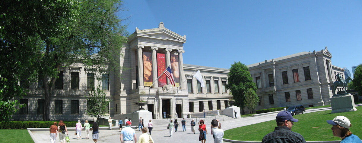 The Museum of Fine Arts Boston. Photo by Jenn Mau, via Flickr.