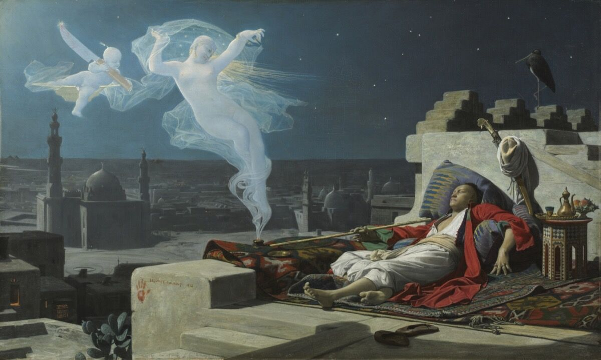 Jean Lecomte du Nouÿ, A Eunuch's Dream, 1874. Courtesy of the Cleveland Museum of Art.
