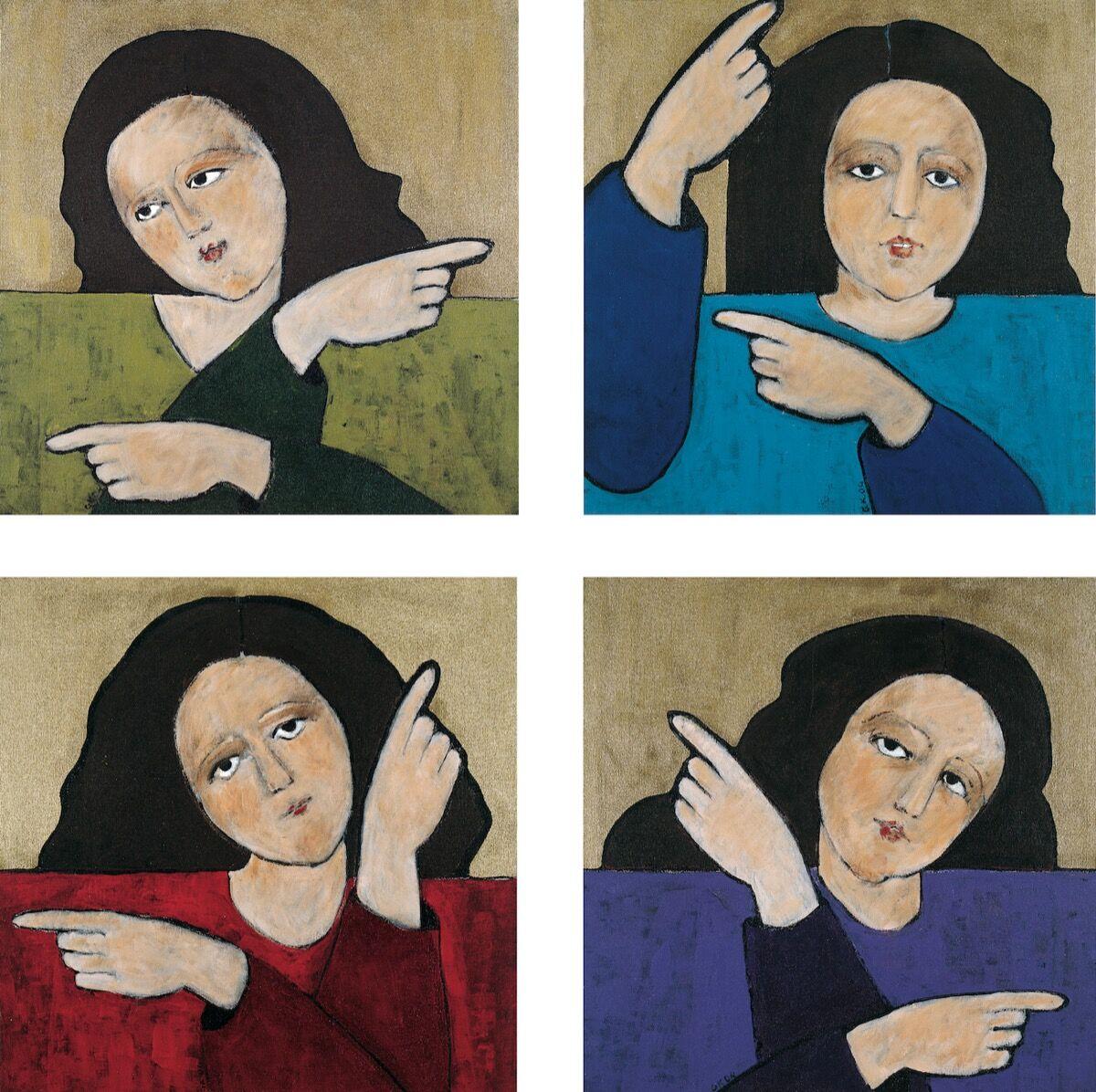 Gülsün Karamustafa, Promised Paintings, 2004. Courtesy of the artist.