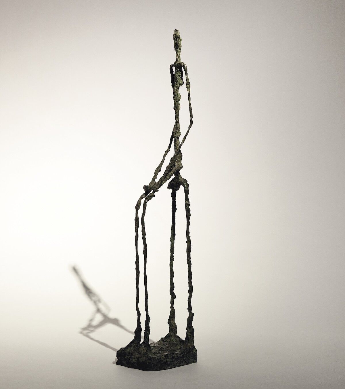 Alberto Giacometti, Femme assise, bronze, conceived in 1949–50, cast in 1957. Est. $14–18 million. Courtesy Christie's