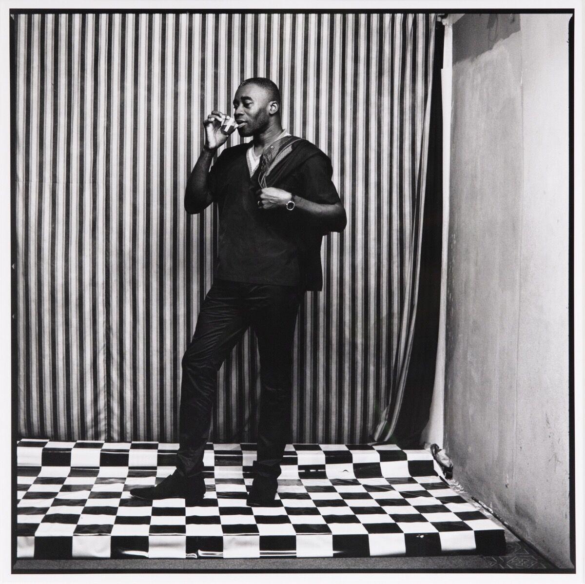 Malick Sidibé, Untitled (Chris Ofili). Courtesy of Jack Shainman Gallery.