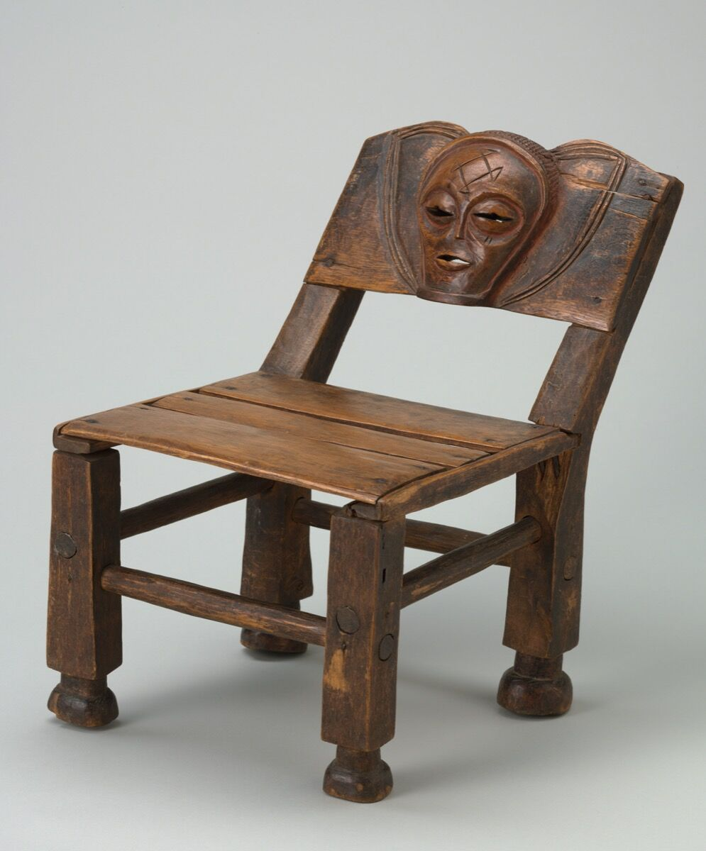 Unidentified artist from the Chokwe region, Angola, Chair, early 20th century. Courtesy of The Baltimore Museum of Art.