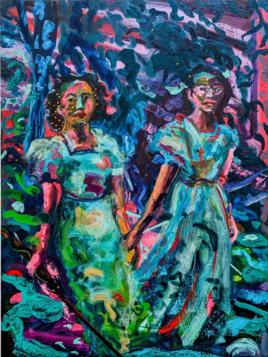 Maia Cruz Palileo, We Walked for Hours, 2021. Courtesy of the artist and Monique Meloche.