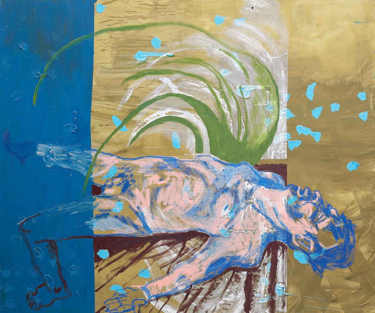 Martin Kippenberger, Ohne Titel (aus der Serie Das Floß der Medusa), 1996. Courtesy of Phillips.