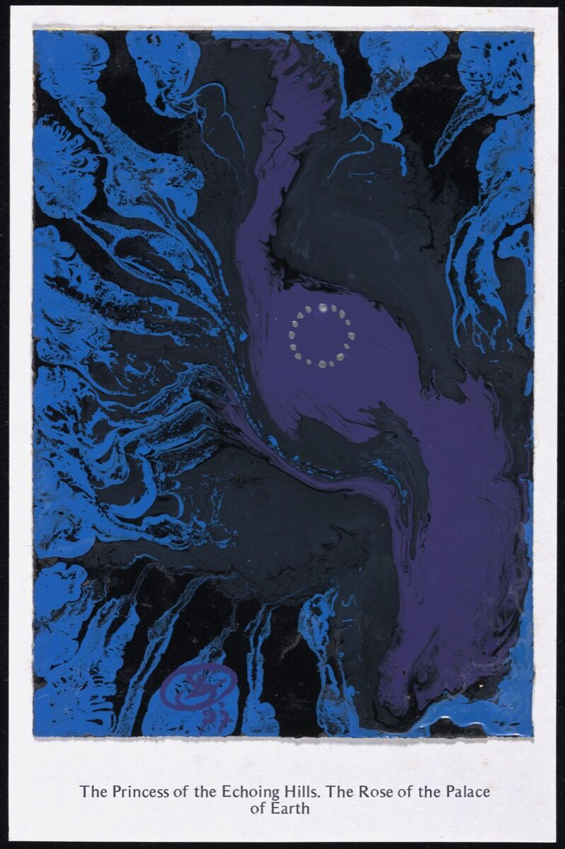 Tarot Card by Ithell Colquhoun. © Tate. Courtesy of the Tate.