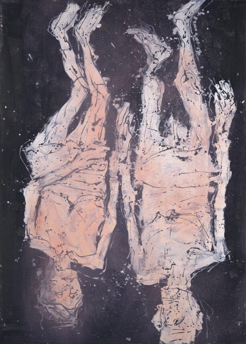 Georg Baselitz, Sind wir schon da?, 2018. © Georg Baselitz/DACS. Courtesy of Galerie Thaddaeus Ropac.