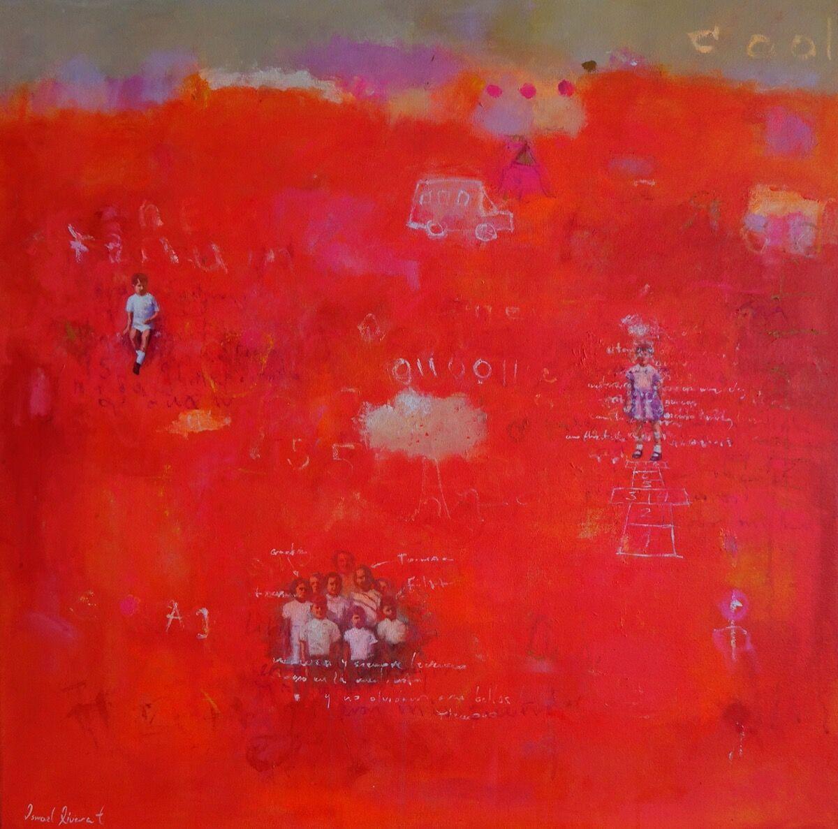Ismael Rivera, Sweet Red II, 2019. Courtesy of the artist and Beatriz Esguerra Art.