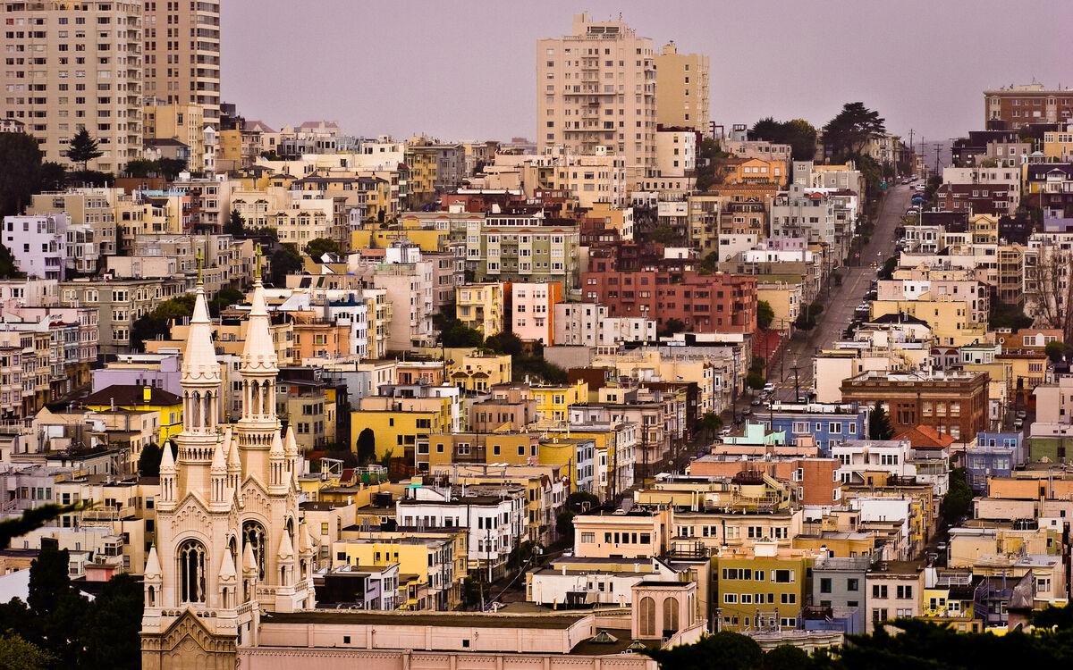Photo of San Francisco from Telegraph Hill by(matt), via Flickr.