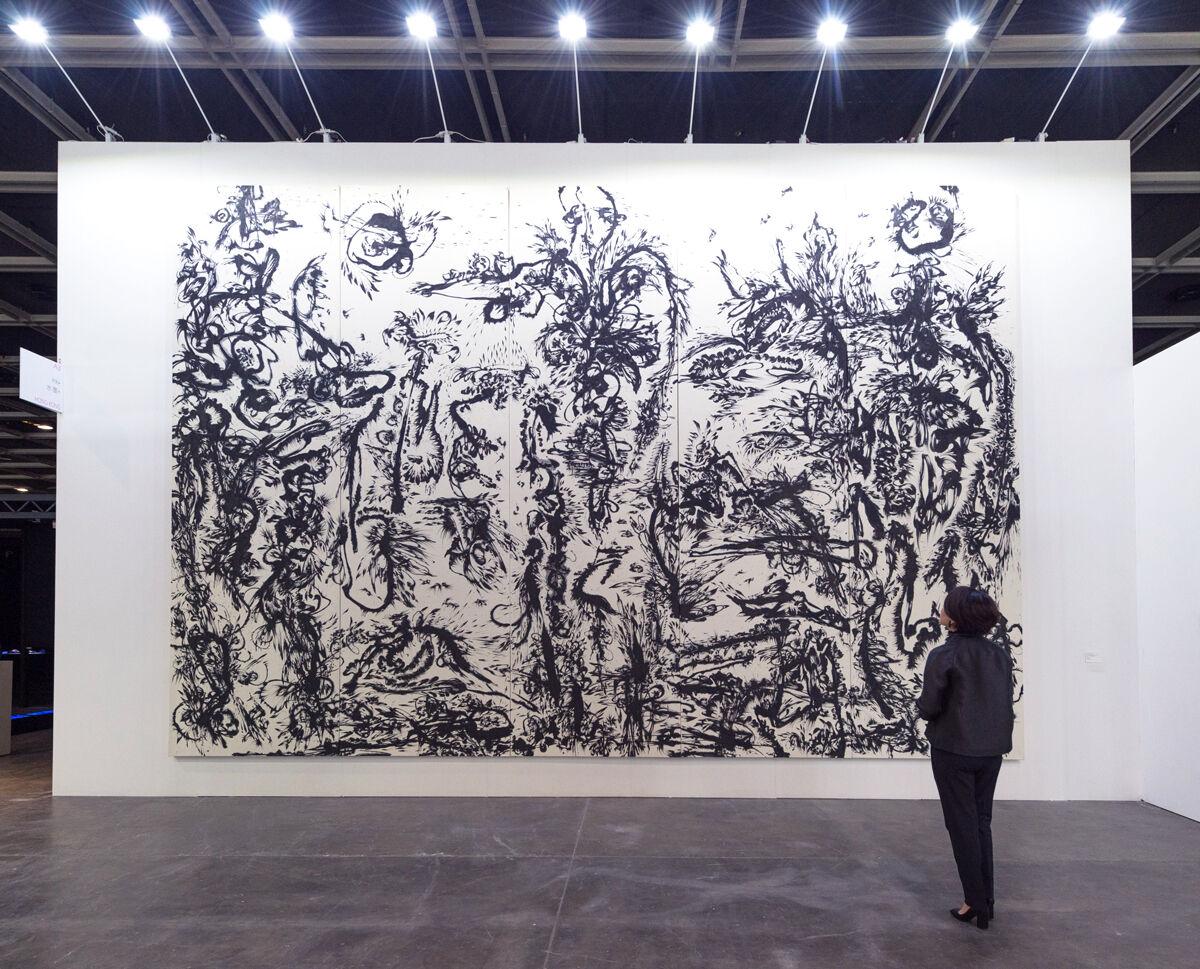 Huang Zhiyang,Zoon-Beijing Bio: Spring No.1, 2013. Presentation at Ink Asia 2016 sponsored by INK studio, Beijing.
