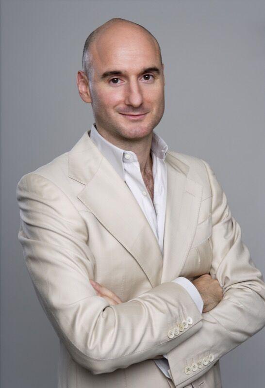 Self-portrait of Benjamin Giorgio Genocchio, 2010. Photo byGeorge Chernilevsky, courtesy of Benjamin Genocchio.