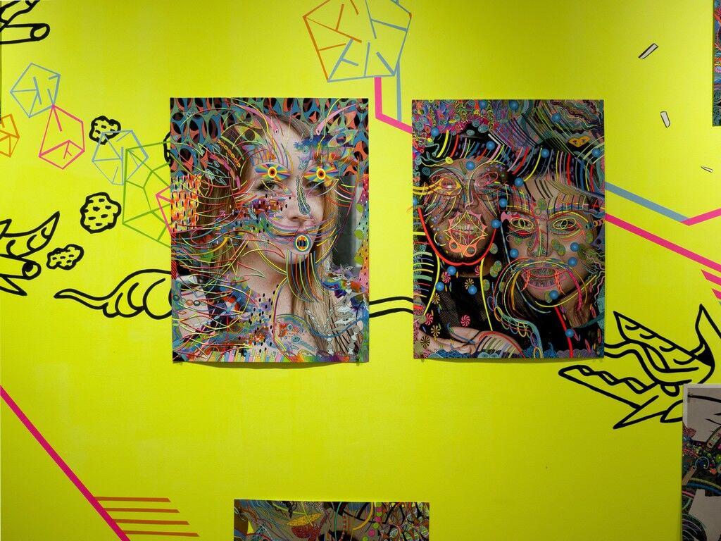 "Installation view of Dex Fernandez ""310E44R822""at Owen James Gallery, New York. Courtesy of Owen James Gallery."