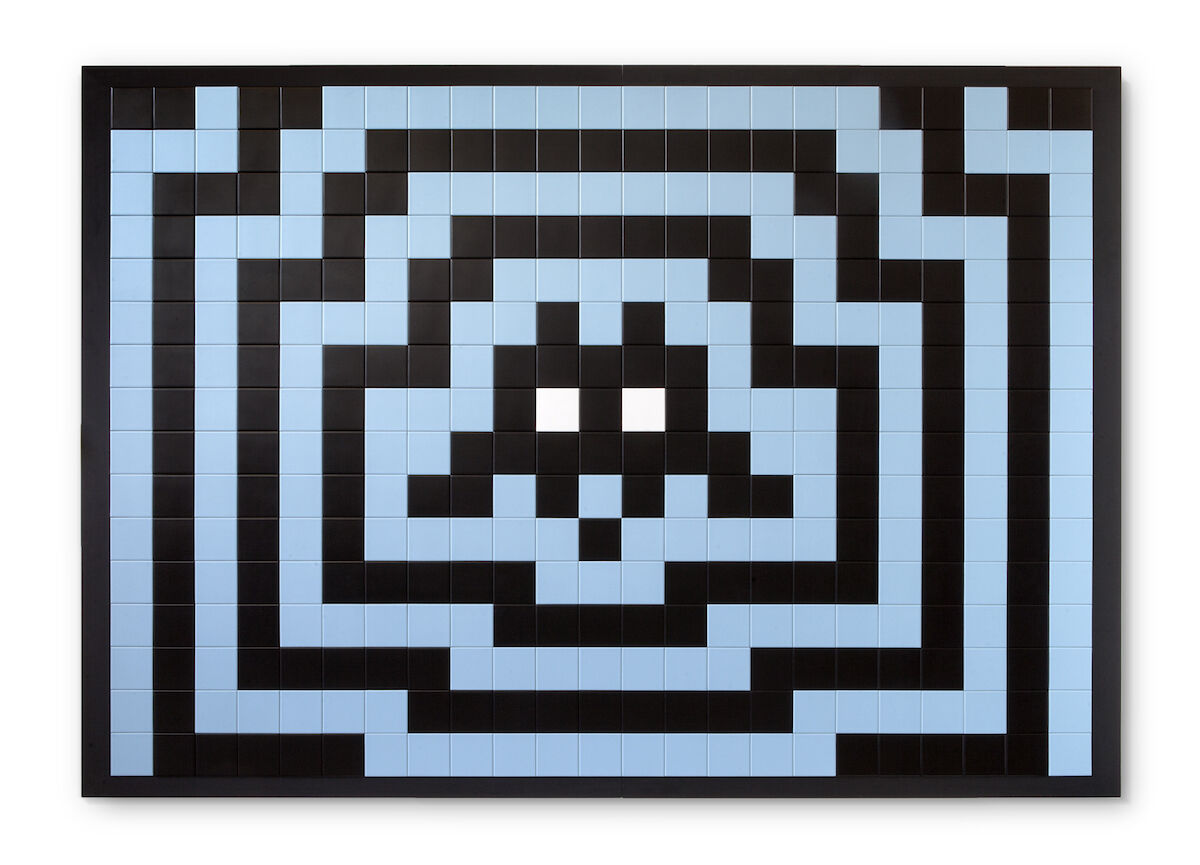 Invader, Vienna, 2007. Sold for €356,200 (about $398,800) at Artcurial. Courtesy Artcurial.