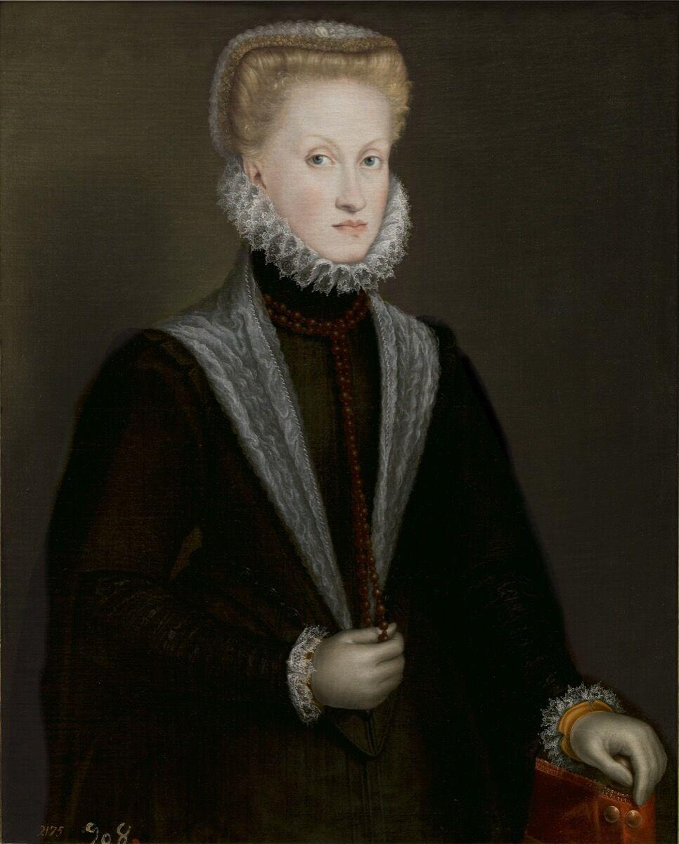 Sofonisba Anguissola, Queen Anne of Austria, 1573. Courtesy of the Museo del Prado.