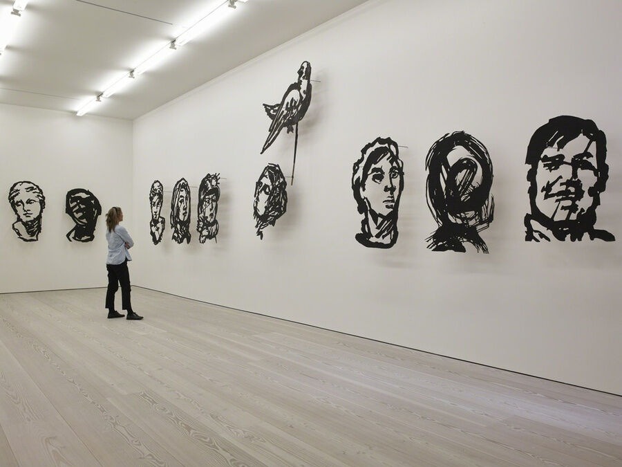 William Kentridge, More Sweetly Play the Dance, Installation View, Marian Goodman, Gallery, London, September 11 – October 24, 2015. Image courtesy of Marian Goodman Gallery.