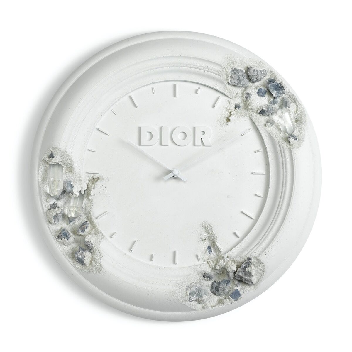 Daniel Arsham x Dior, Future Relic Eroded Clock, 2020. Courtesy of the artist and Christie's Images Ltd. 2020.