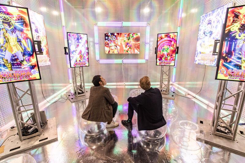 Lu Yang at Société's Art Basel booth