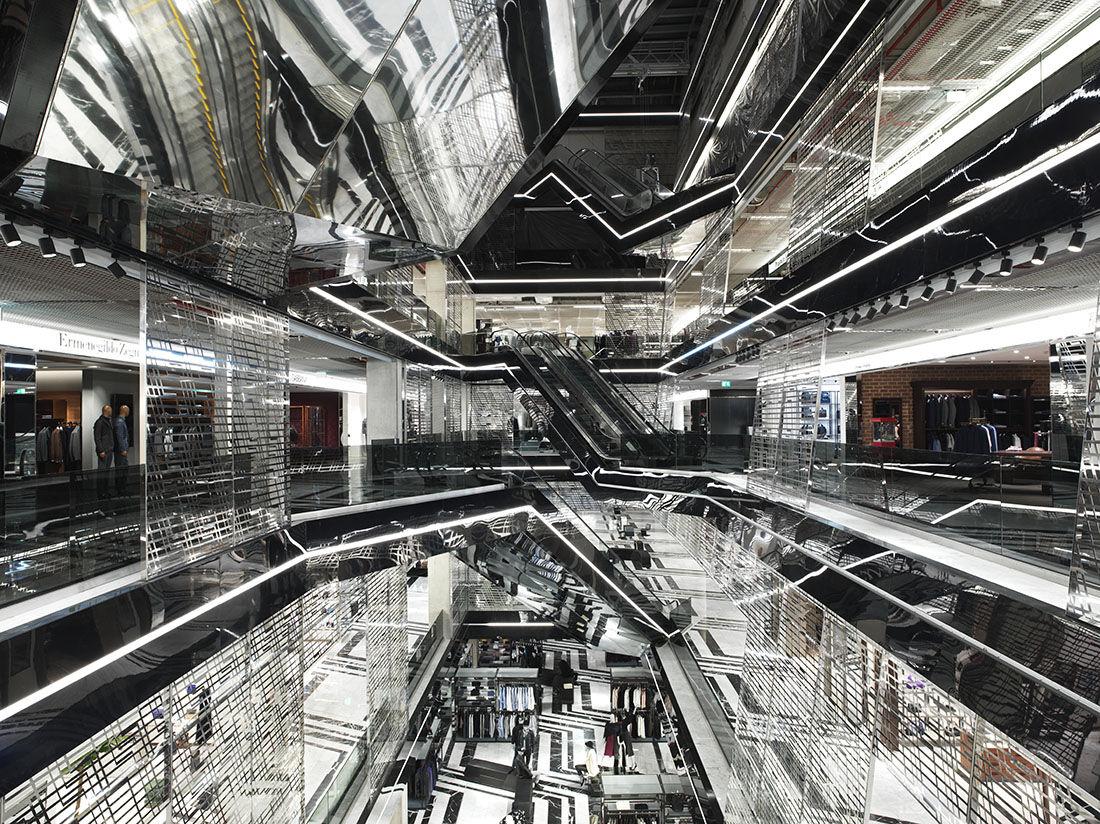 Interior, Aïshti Foundation, Beirut.© Guillaume Ziccarelli / Aïshti Foundation