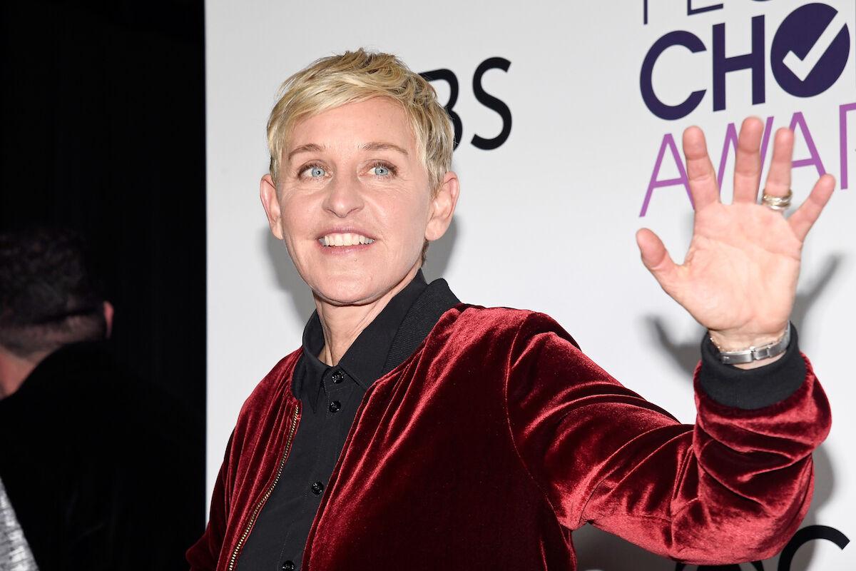 Ellen Degeneres. Photo by Kevork Djansezian/Getty Images.
