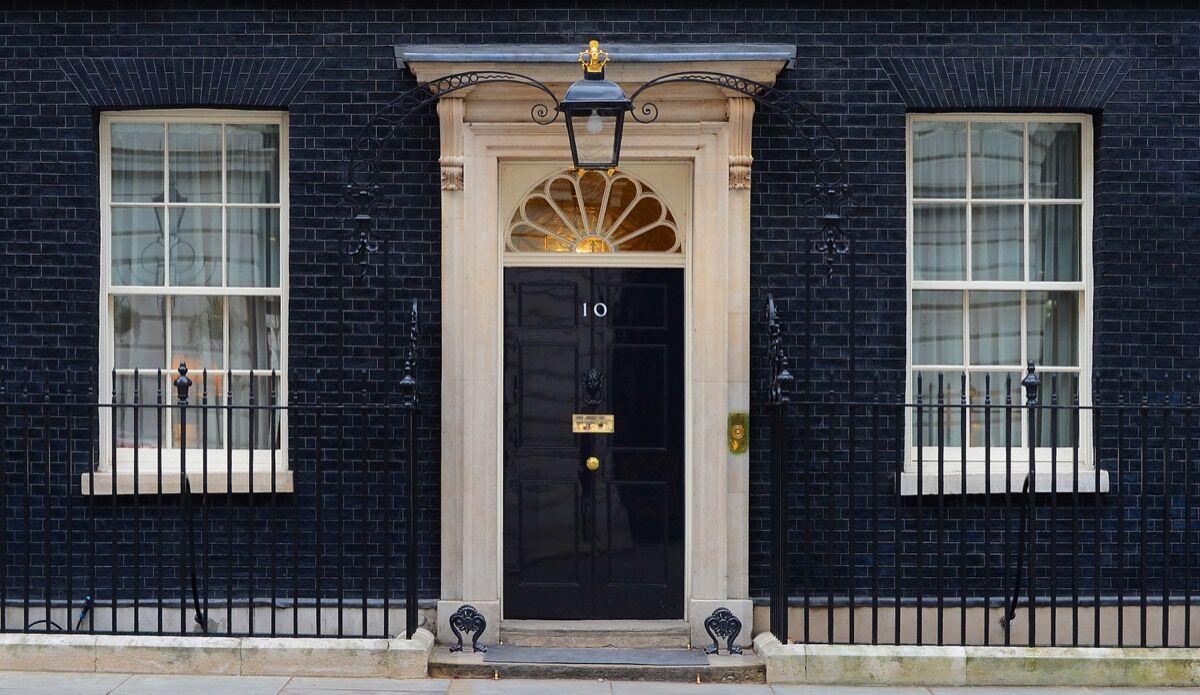10 Downing Street. Photo by Sergeant Tom Robinson RLC, via Wikimedia Commons.