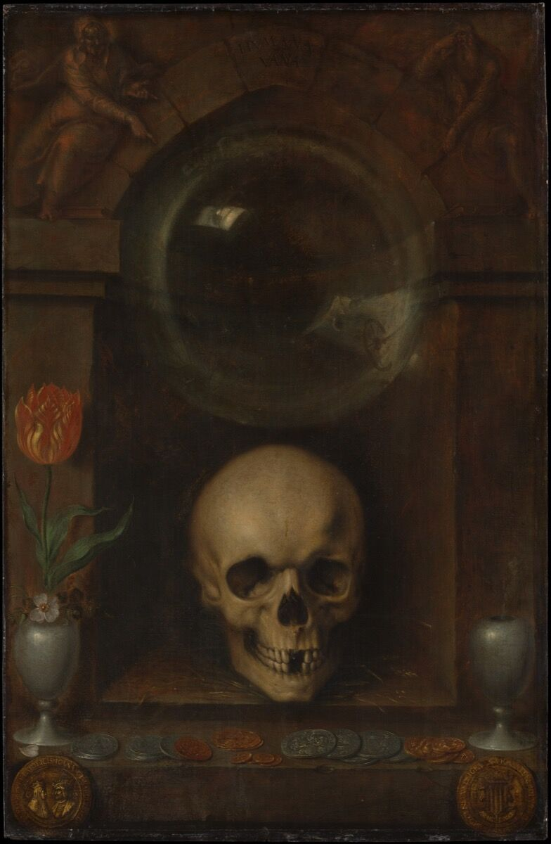 Jacques de Gheyn the Younger,  Vanitas Still Life , 1603. Courtesy of the Metropolitan Museum of Art.