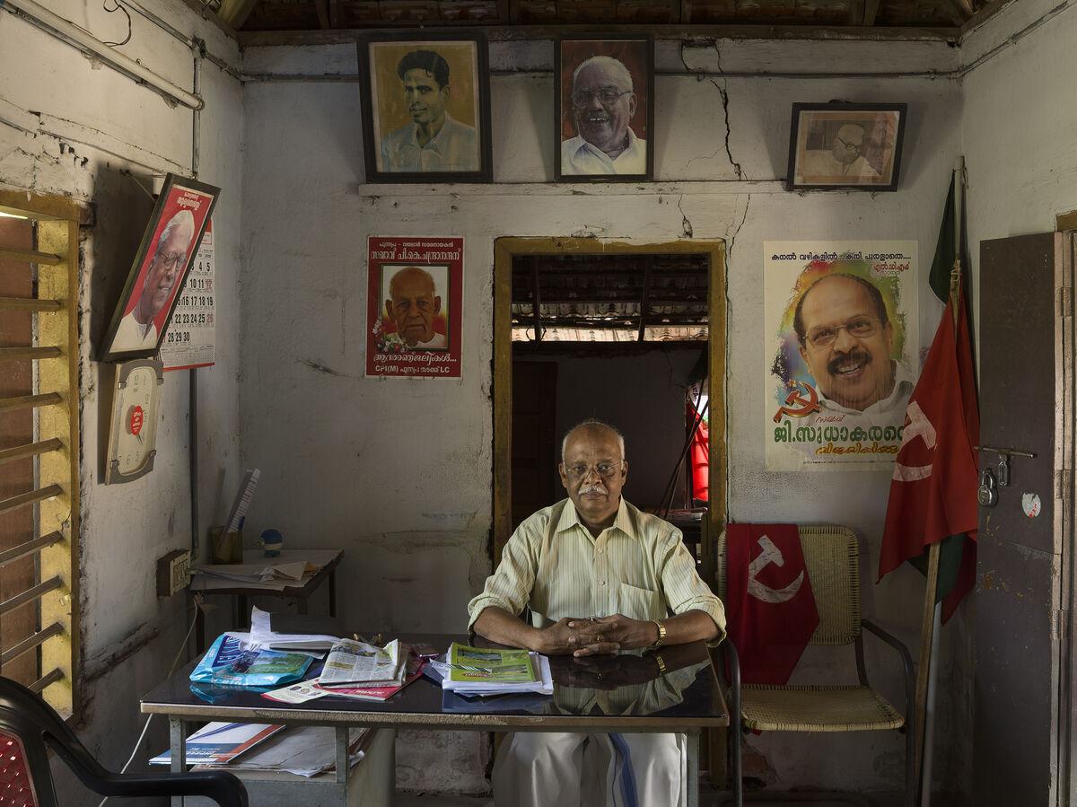 Jan Banning, Punnapra, India. Courtesy of Jan Banning.