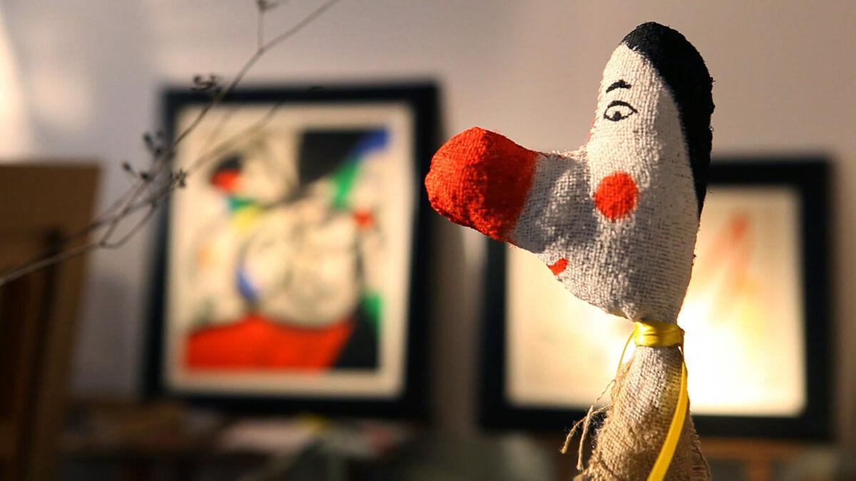 Ephemera from Joan Miró's studio. Photo courtesy of Mayoral Galeria d'Art.