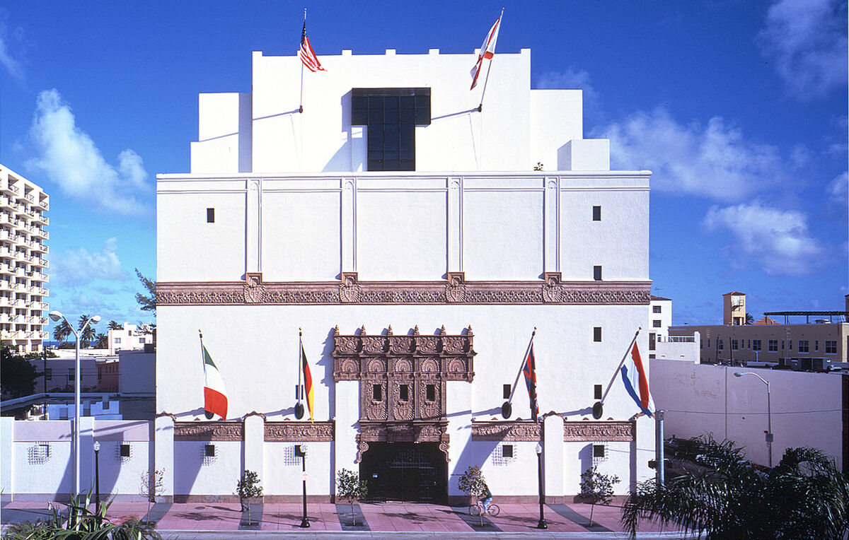 Exterior of The Wolfsonian-FIU. Courtesy of The Wolfsonian–FIU.